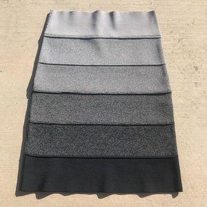 BCBG Ombré Bandage Skirt